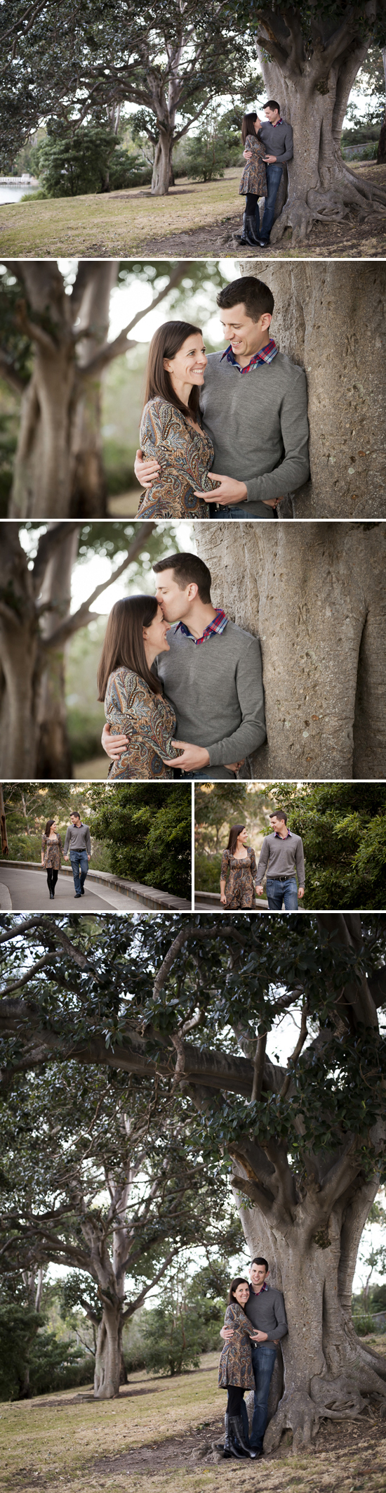 Carolyn & Andrew's Engagement Session at Como, Sutherland Shire